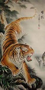 Chinese Painting Tiger | www.imgkid.com - The Image Kid ...
