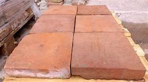 Terracotta Fliesen Terrasse : terrakotta handstrich tonziegel bodenplatten bodenziegel fliesen terrasse garten landhaus ~ Markanthonyermac.com Haus und Dekorationen