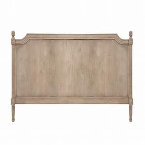 Tete De Lit Maison : tete de lit bois gris maison design ~ Zukunftsfamilie.com Idées de Décoration