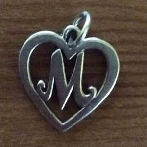 james avery initial m heart in search of james avery quotm With james avery letter necklace