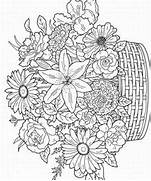 Adult Flower Coloring ...