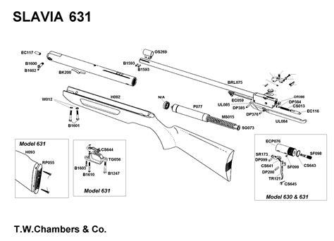 slavia airgun spares chambers gunmakers airgun