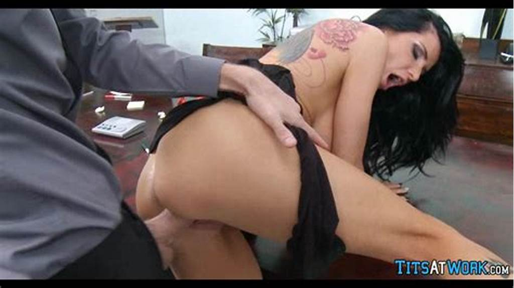 #Hot #Milf #Gets #Drilled #On #The #Job