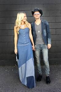 Coupleu0026#39;s Costume Britney and Justin (The Denim Outfits!)   A Beautiful Mess   Bloglovinu2019