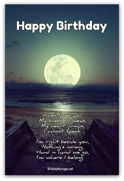 romantic birthday poems romantic birthday messages