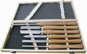Gouge De Tournage : coffret de 6 gouges et ciseaux de tournage acier hss ~ Premium-room.com Idées de Décoration