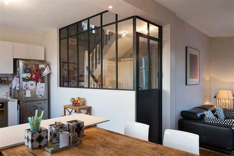 porte battante cuisine verrière et cloison atelier d 39 artiste pour une cuisine ou