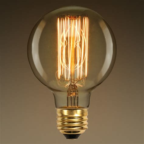 g30 vintage antique light bulb style 40w