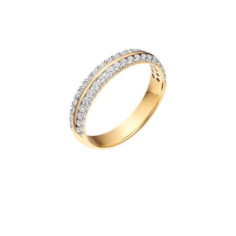 Double Row Diamond Band   Wedding Ring   2 row diamond   N.I