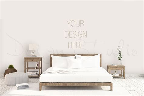 interior psd bedroom photo print mockups creative market