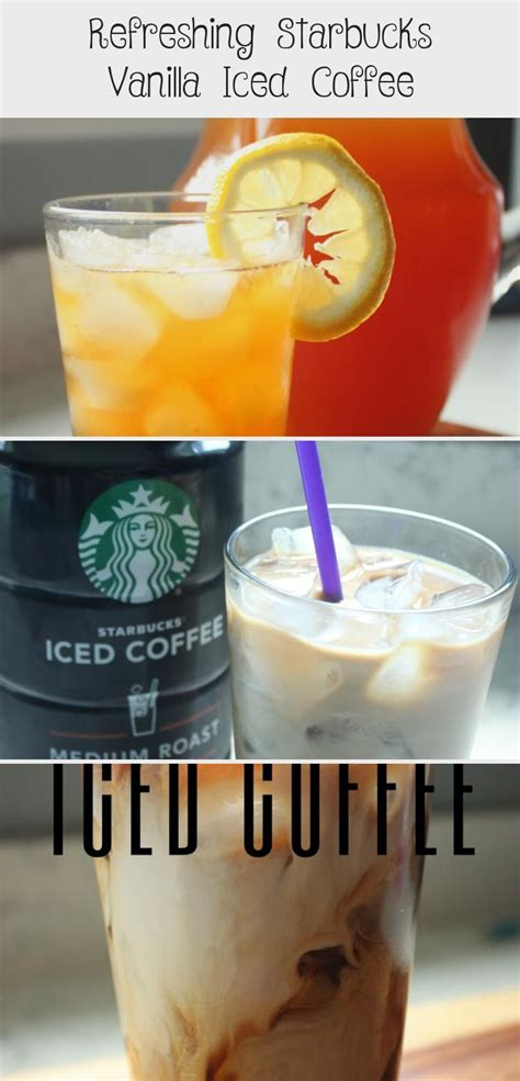 An iced vanilla latte from the coffee shop shouldn't put you into debt. Refreshing Starbucks Vanilla Iced Coffee | Vanilla iced coffee, Starbucks vanilla iced coffee ...