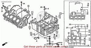 Honda Cbr250rrr Mc22  Japan  Crankcase