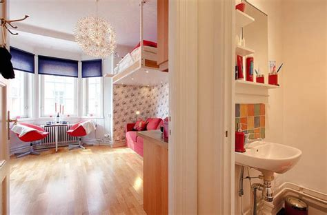 Minimalistische Einrichtung Des Kinderzimmerskindezimmer Mit Hochbettgestell fa 231 ons d am 233 nager un studio beaucoup d id 233 es en photos