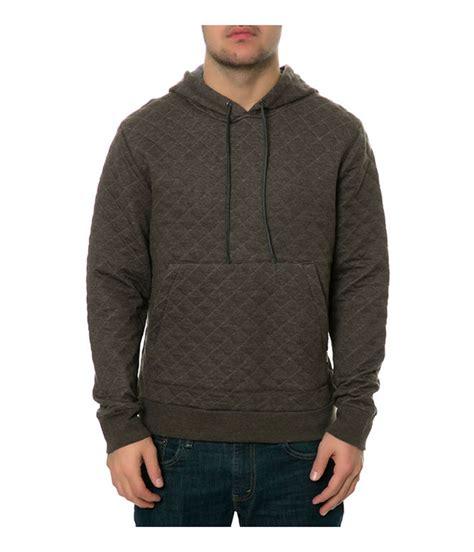 quilted hoodie mens ambig mens the dwight quilted hoodie sweatshirt ebay