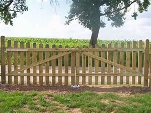 Gartenzaun Mit Tor : staketen holztor verschraubt ab 39 99eur standard gartenzaun ~ Frokenaadalensverden.com Haus und Dekorationen