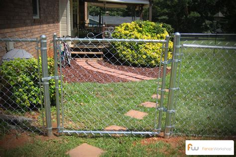installing a l post photos 47 chain link fence fence materials guide