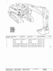 Terex Atlas Excavators Set Of Pdf Parts Manuals