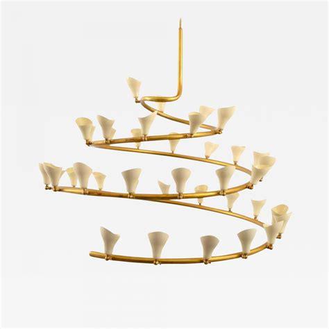 gino sarfatti chandelier gino sarfatti large gino sarfatti spiral chandelier for