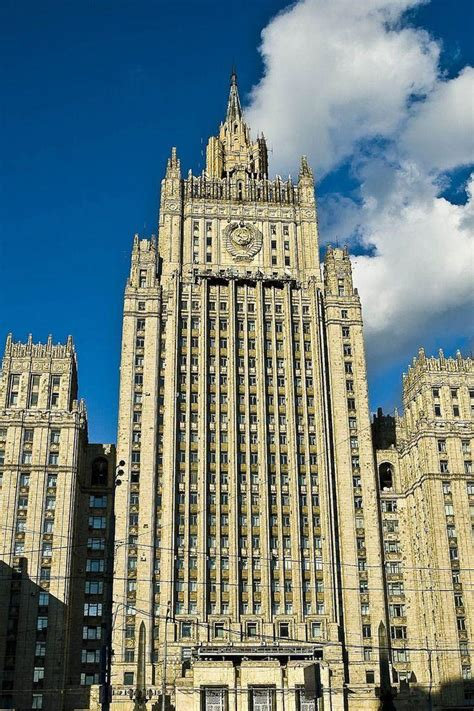 Socialist Classicism 10 Famous Landmarks Of Stalinist
