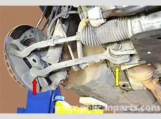 replacement front lower control arm w203 is it difficult