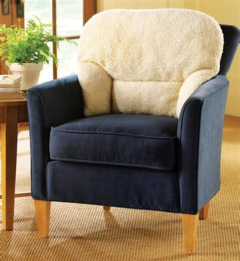fleece back support pillow for stress elderly relief