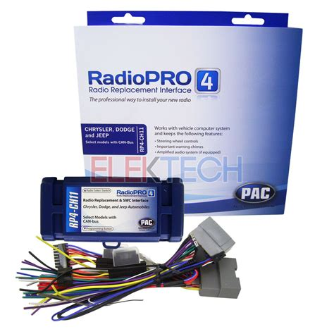 Pac Radio Replacement Interface For Chrysler