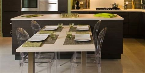 Ilot Central Table Escamotable