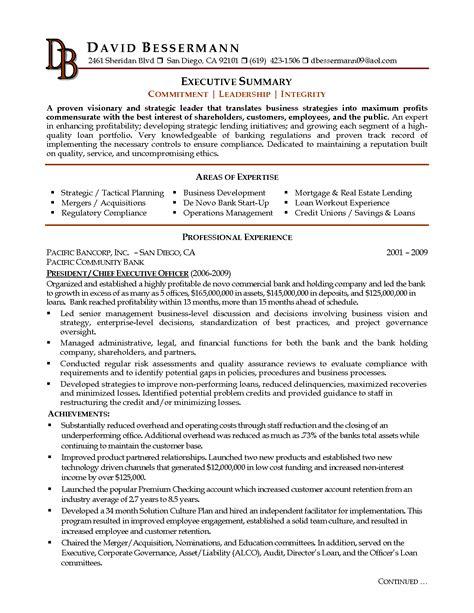how to write a executive summary resume writing resume