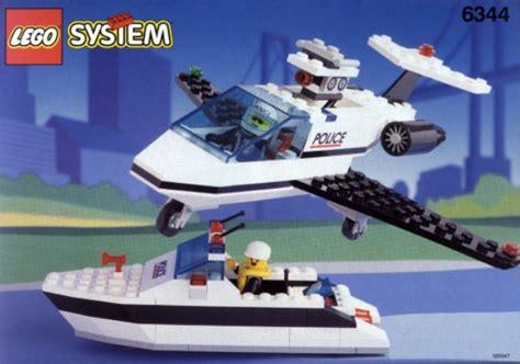 Lego Boat Plane lego plane and speed boat 6344