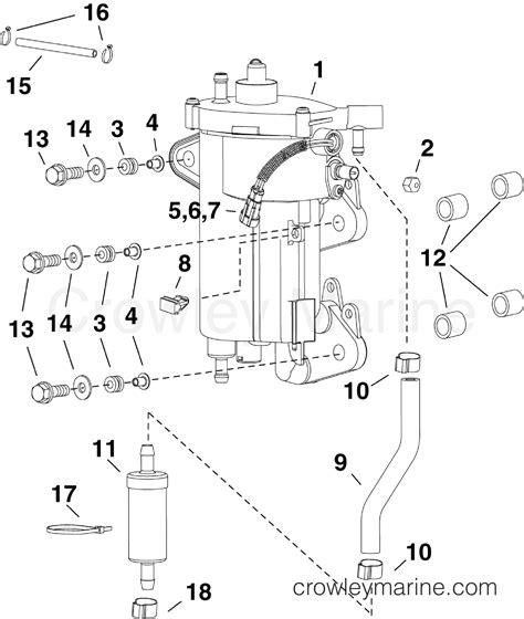 Boat Engine Vapor Lock by Fuel Vapor Separator 2010 Evinrude Outboards 25