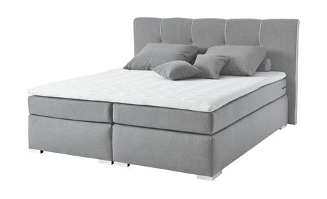 set one by musterring boxspringbett set one by musterring boxspringbett 180x200 grau