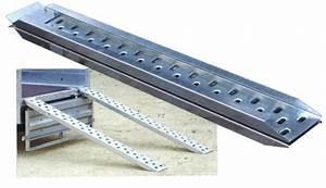 Rampe De Montee Remorque : rampes de mont e galva 170x30cm capacit 1000kg paire ~ Edinachiropracticcenter.com Idées de Décoration