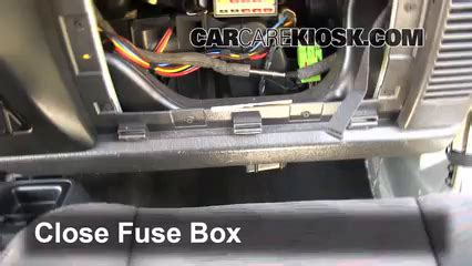 2011 Jeep Grand Fuse Box Location by Interior Fuse Box Location 1997 2006 Jeep Wrangler 2004