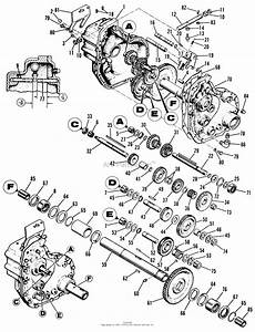 3000 Tractor Transmission Diagram