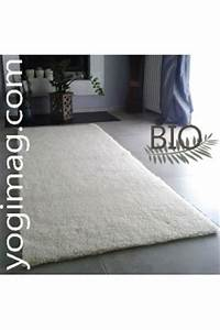grand tapis de yoga en laine special relaxation With tapis de yoga bio