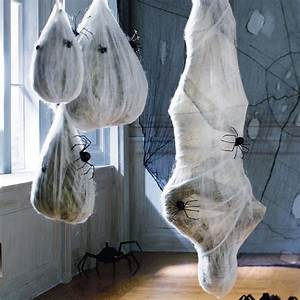 Hanging Cocooned Man and Spider Larva Balls - The Green Head