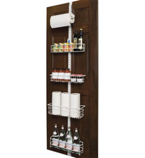 the door kitchen organizer freedomrail the door organizer upright in the 7256