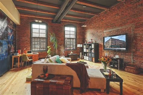 Apartment With Loft Seattle by Urbnindustrial Pioneer Square Loft In Seattle Living