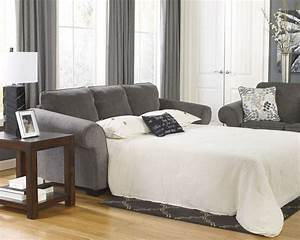 Ashley furniture queen sofa sleeper sofa bed ebay for Ashley sleeper sofa