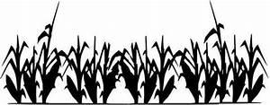 Cornfield clipart - Pencil and in color cornfield clipart