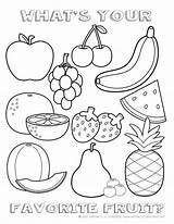 Coloring Healthy Pages Printable Eating Fruits Foods Vegetables Fruit Children Sheet Chart Printables Something Frutta Colorare Sheets sketch template