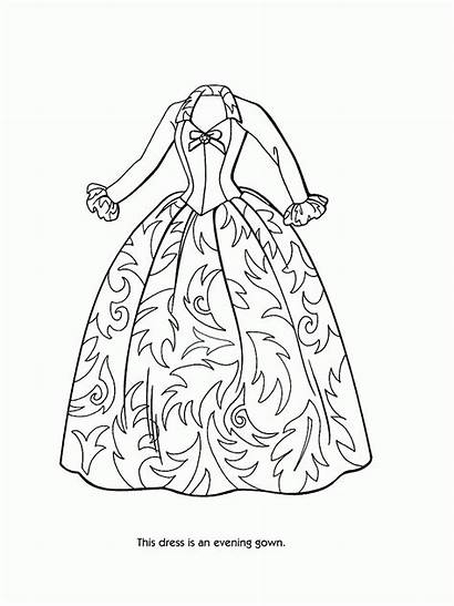 Coloring Barbie Pages Printable Popular