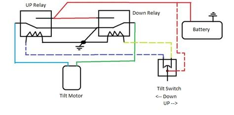 Wiring Diagram For Wire Tilt Trim Pump Page
