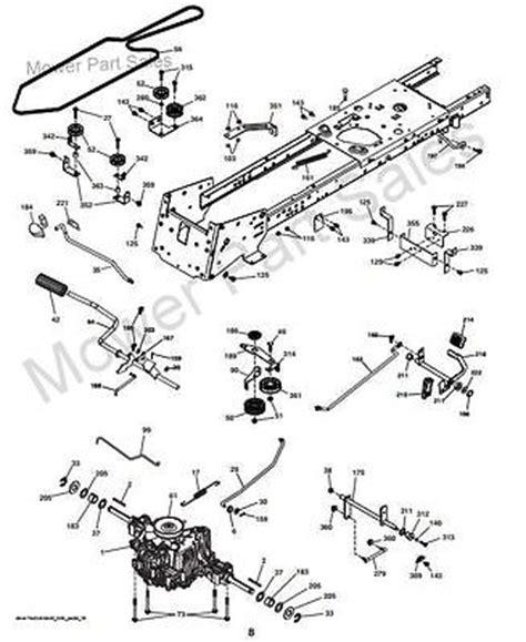 transmission drive belt fits husqvarna cth cth