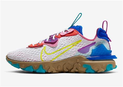 Inspired by mexican folk art and featuring your favorite nike react foam midsole, the men's nike react vision running shoes are a. Nike React Vision CI7523-001 Release Info | SneakerNews.com