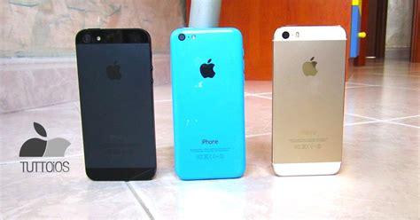 5 vs 5s vs 5c iphone 5s vs iphone 5 vs iphone 5c il confronto di