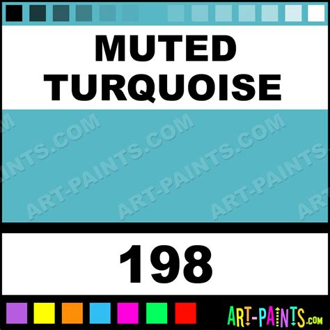 muted turquoise four in one paintmarker marking pen paints