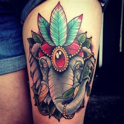 Cool Elephant Tattoo Ideas