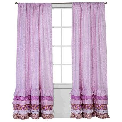 Target Pink Window Curtains by Target Castle Hill Pink White Bonaire Window Drape