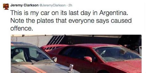 top gears argentina row explanation leaving plenty